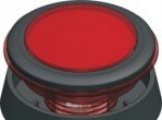Button 52,8 mm Red